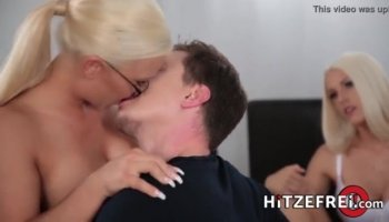 Photographer feed Kendall Kross his large cock